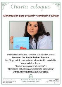 """Alimentación para prevenir y combatir el cáncer @ Asociación de Amas de Casa """"Santa Cristina"""" Pola de Lena"""
